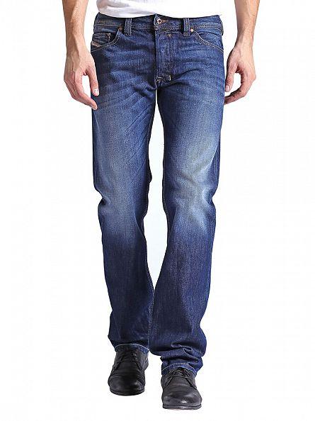 Diesel Pantaloni Wash 823G Safado Regular Slim Straight Jeans