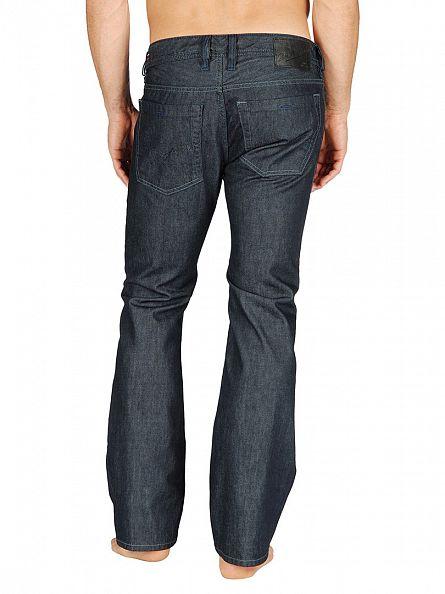 Diesel Dark Indigo Zatiny 88Z Bootcut Jeans
