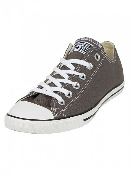 Converse Charcoal All Star Lean Ox Trainers