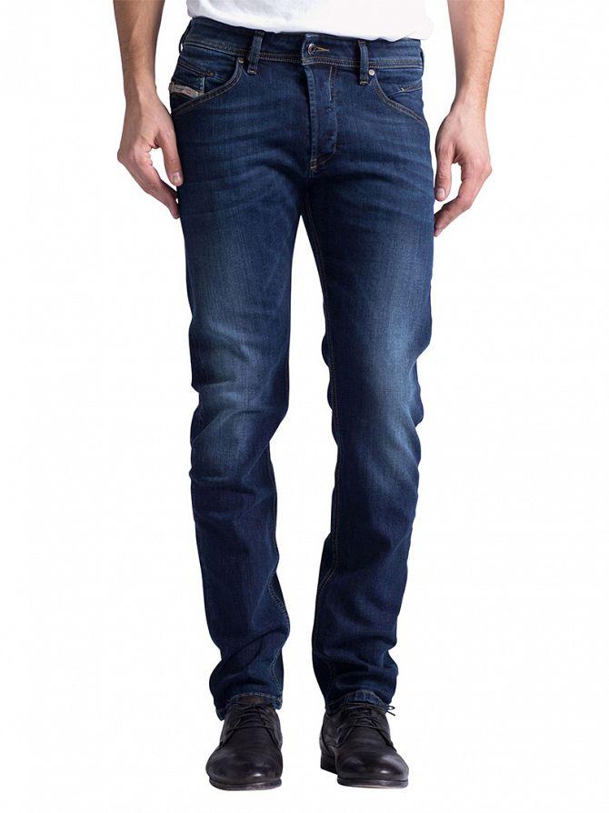 Diesel Dark Wash Belther 814W Slim Fit Jeans