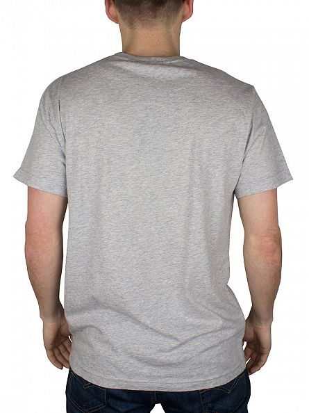 Gant Light Grey Solid T-Shirt