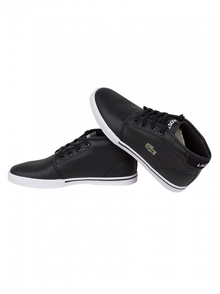 Lacoste Black/Black Ampthill LCR Trainers
