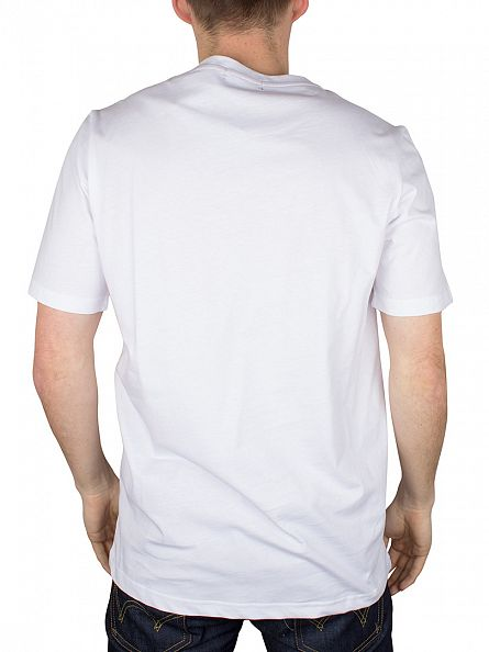 Farah Vintage White The Denny T-Shirt