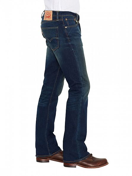 Levi's Green Edge 527 Low Boot Cut Jeans
