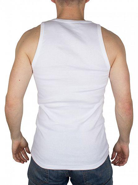 Levi's White 2 Pack Tank Vest