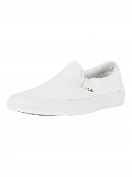 Vans True White Classic Slip-On Trainers