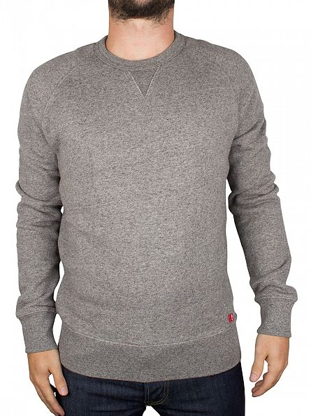 Levi's Grey Heather Original Crew Neck Sweatshirt