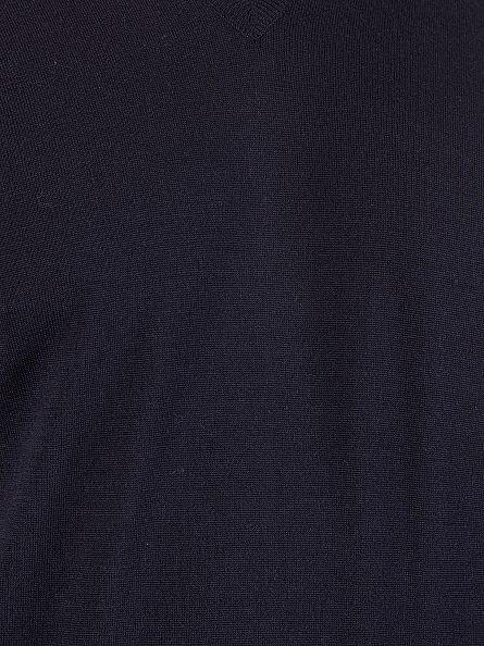 John Smedley Midnight V-Neck Knit