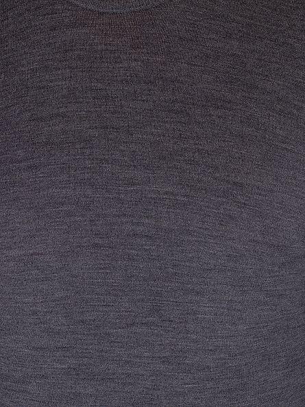 John Smedley Charcoal Crew Neck Knit