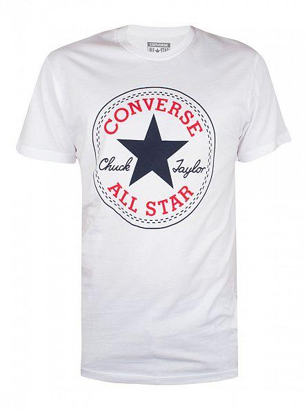Converse White Logo T-Shirt