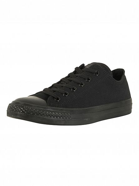 Converse Black/Mono Taylor OX Trainers