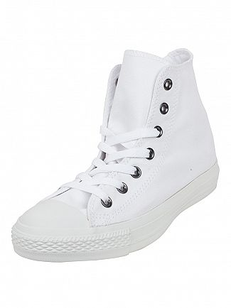 Converse White/White CT Hi Trainers