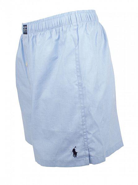 Polo Ralph Lauren Sky Blue Woven Plain Trunks