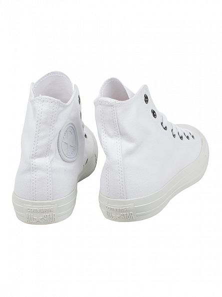 Converse White/White CT Hi Trainers
