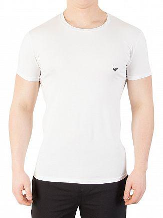 Emporio Armani White Crew Neck T-Shirt