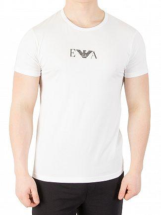 Emporio Armani White 2 Pack Stretch T-Shirt