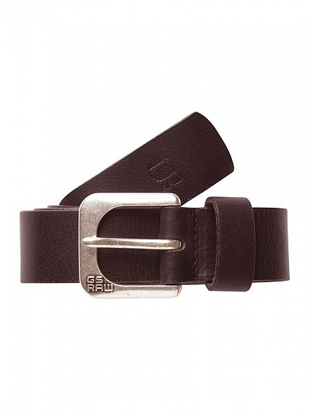 G-Star Brown Zed Belt