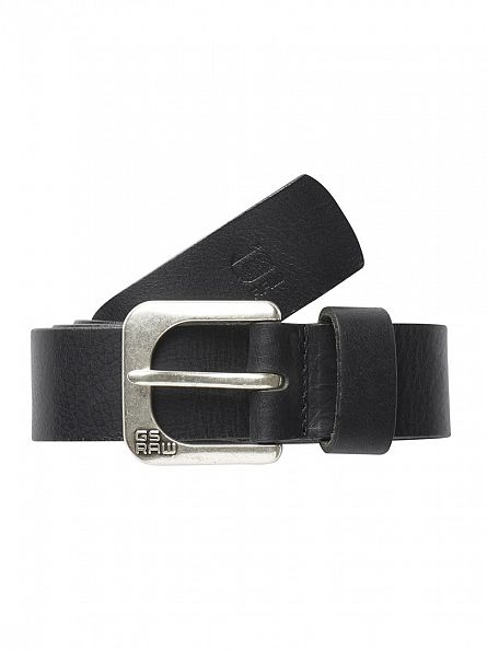 G-Star Black Zed Belt