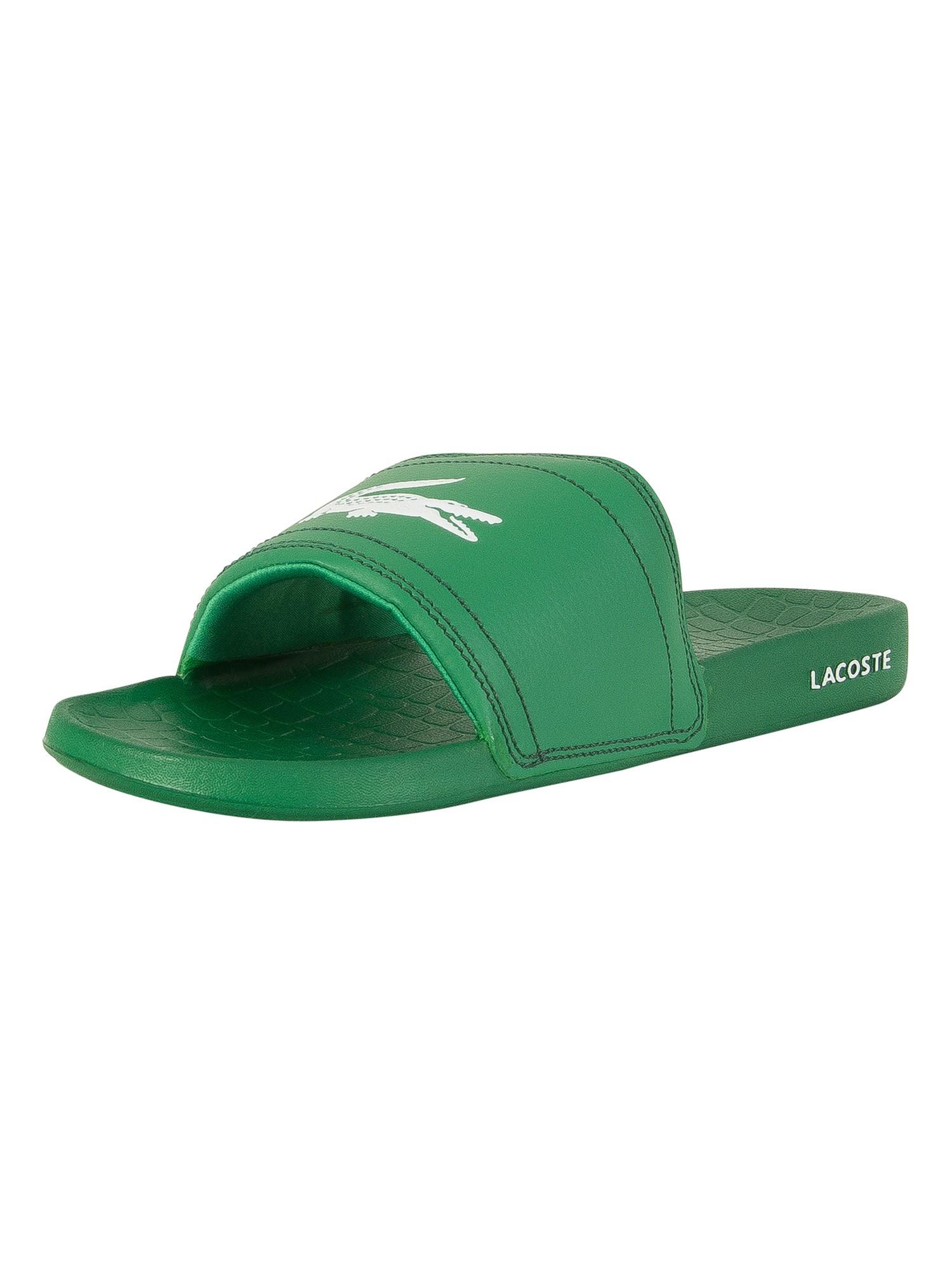 81bea461509f5a Lacoste Green Green Fraisier BRD1 US SPM Flip Flops