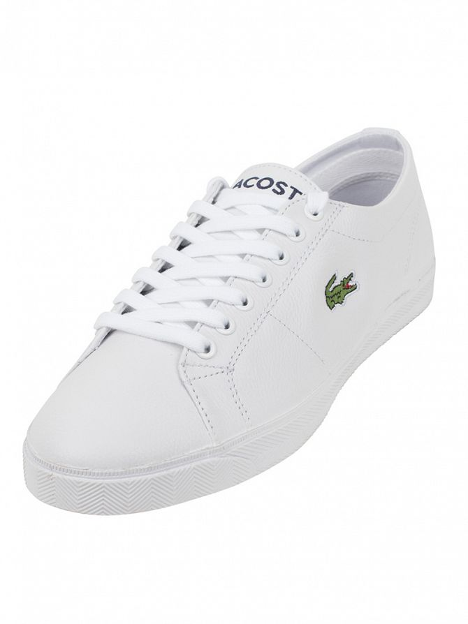 Lacoste White/White Marcel LCR SPM Trainers