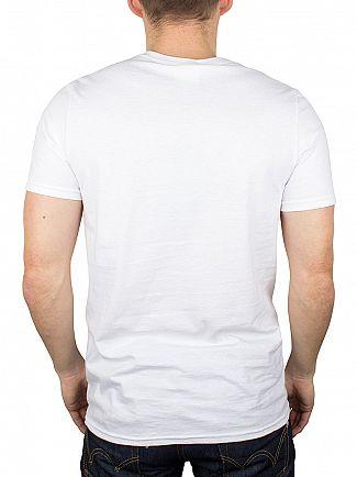 Hype White/Black Script T-Shirt
