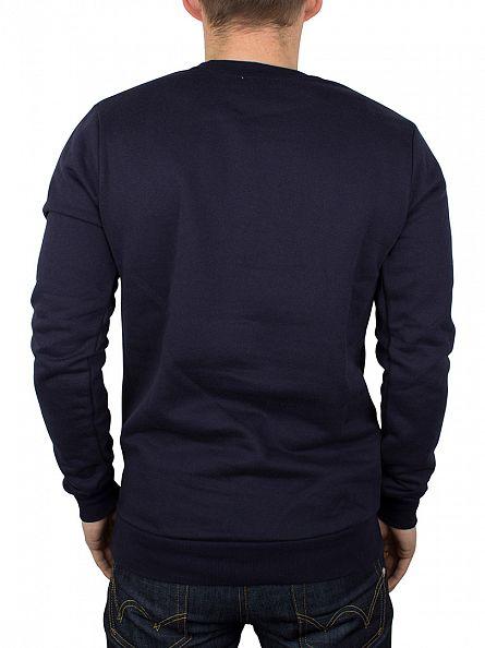 Hype Navy/White Script Sweatshirt