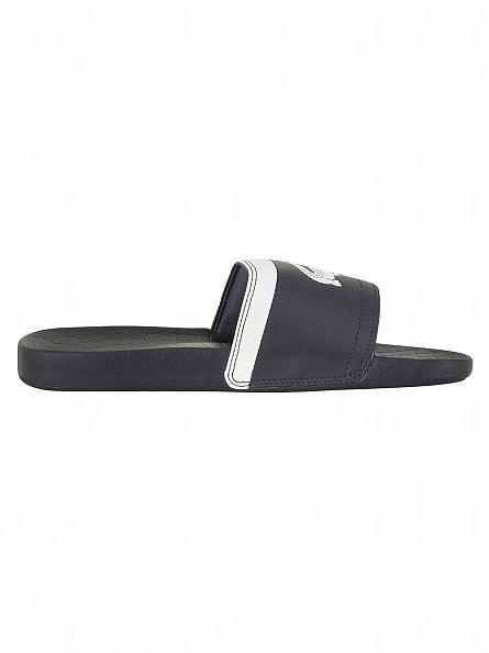 Lacoste Dark Blue/White Fraisier BRD1 US SPM Flip Flops