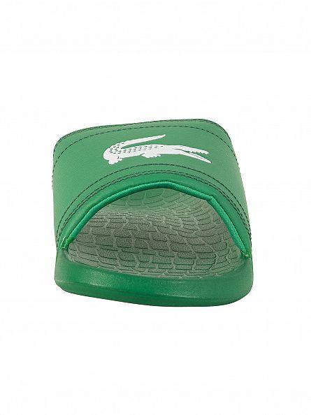 Lacoste Green/Green Fraisier BRD1 US SPM Flip Flops