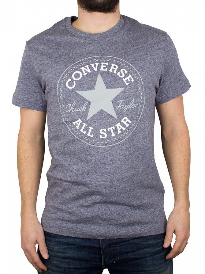 Converse Athletic Navy Logo T-Shirt