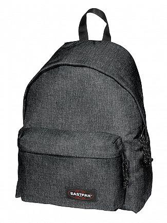 Eastpak Black Denim Padded Pak R Backpack