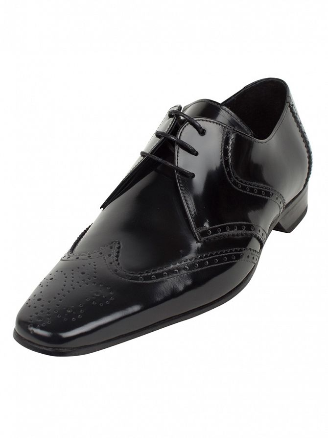 Jeffery West College Black Escoba Shoes
