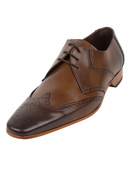 Jeffery West Kenda Tan Escoba Shoes
