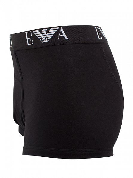 Emporio Armani Black 3 Pack Trunks
