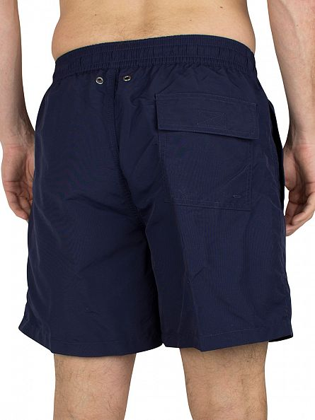 Polo Ralph Lauren Newport Navy Hawaiian Boxer Swim Shorts