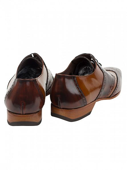 Jeffery West College Mid Brown/College Honey Escoba College Shoes