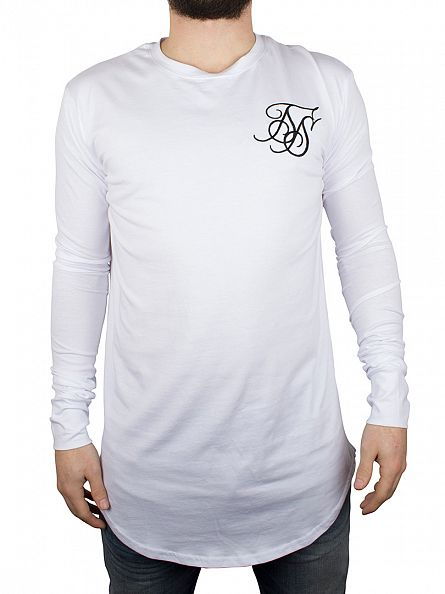Sik Silk White Base Layer T-Shirt