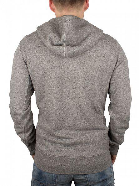 Levi's Medium Grey Original Zip Hoodie
