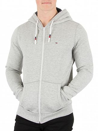 Tommy Hilfiger Denim Grey Heather Orignal Zip Hoodie
