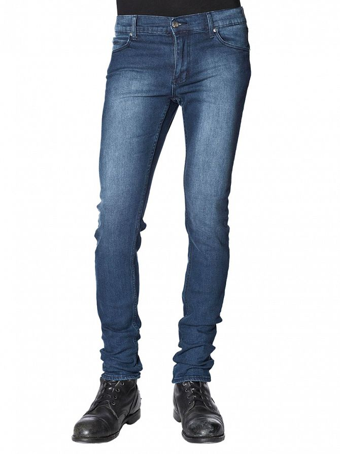Cheap Monday Dark Indigo Tight Slim Fit Jeans