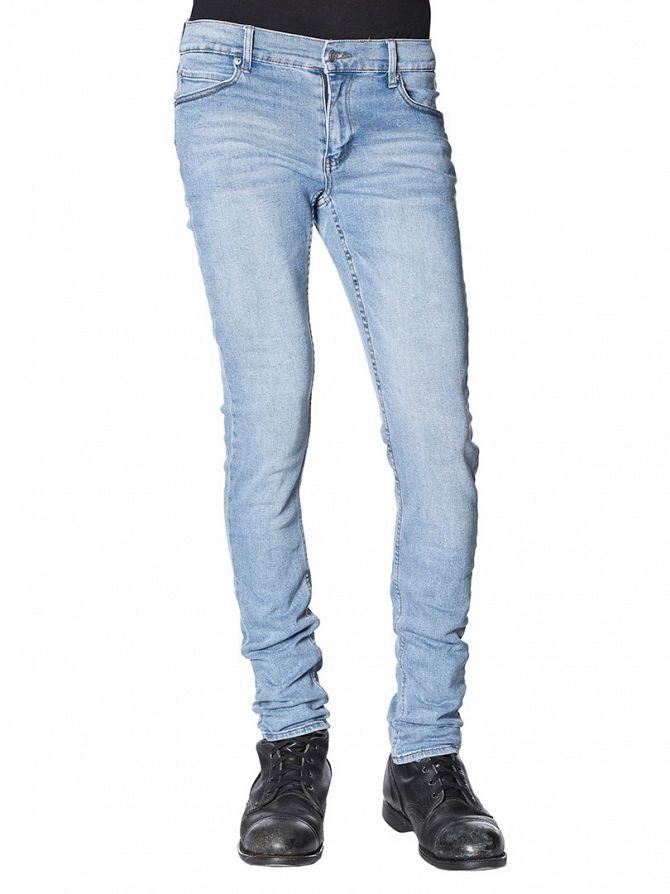 Cheap Monday Stonewash Blue Tight Slim Fit Jeans