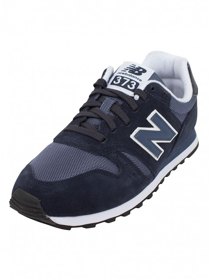 New Balance Dark Blue 373 Trainers