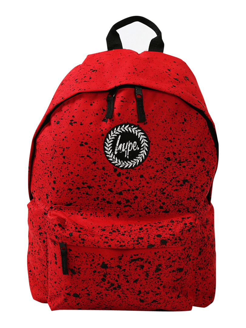 Hype Red Black Speckle Backpack  d39d45c7a3f6d
