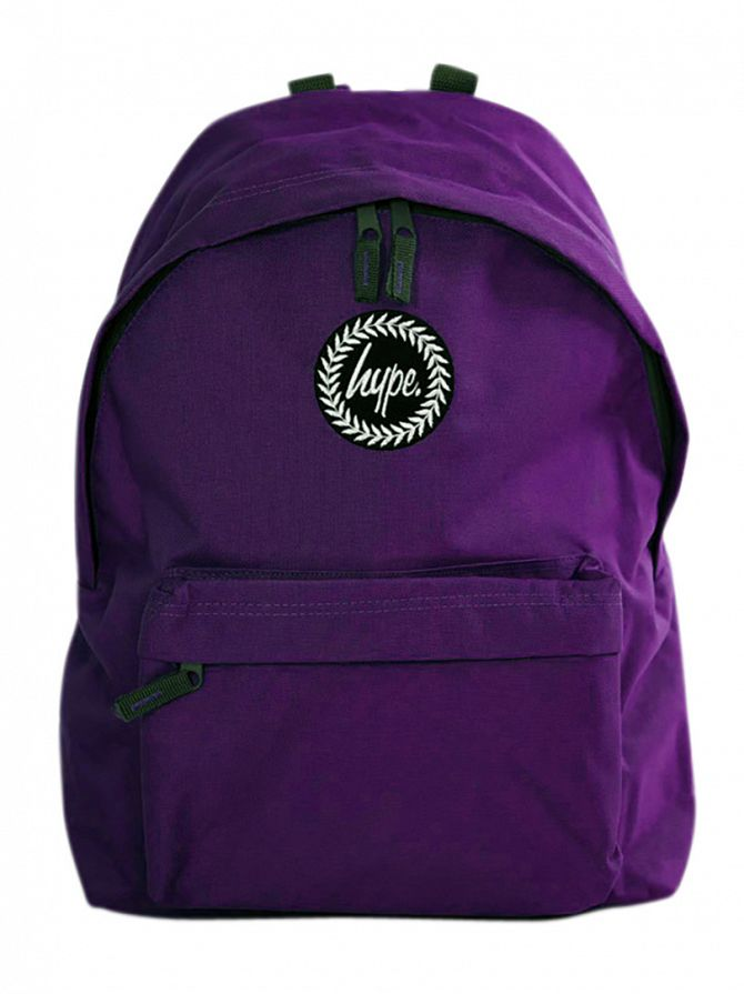 Hype Purple Badge Backpack