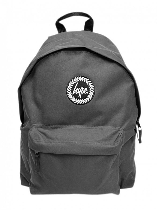 Hype Grey Badge Backpack