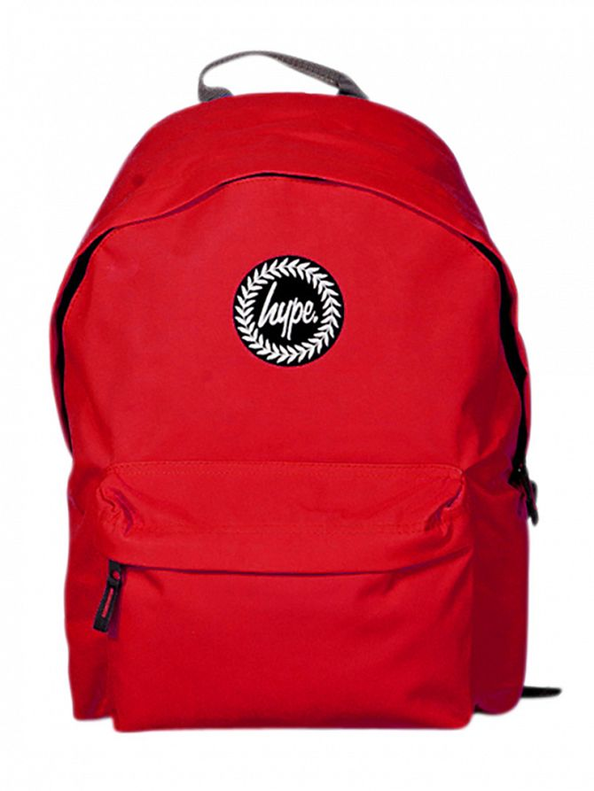 Hype Red Original Logo Backpack