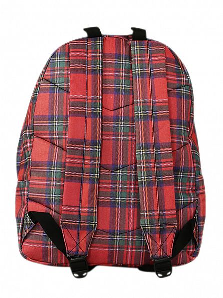 Hype Tartan Backpack