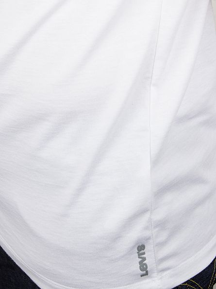 Levi's White 2 Pack Crew Neck T-Shirt