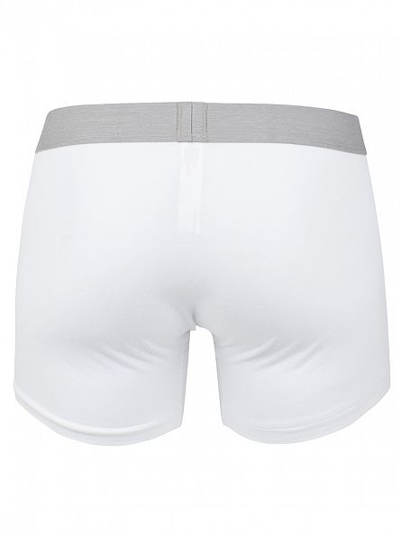 Levi's White 2 Pack Logo Boxer Briefs