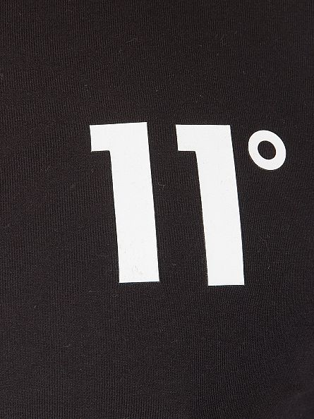 11 Degrees Black Core Logo T-Shirt