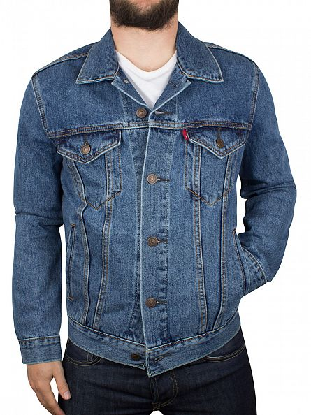 Levi's Medium Stonewash The Trucker Denim Jacket